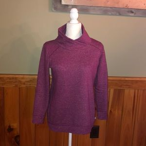 T by Talbots awesome Fall mock neck Sweatshirt